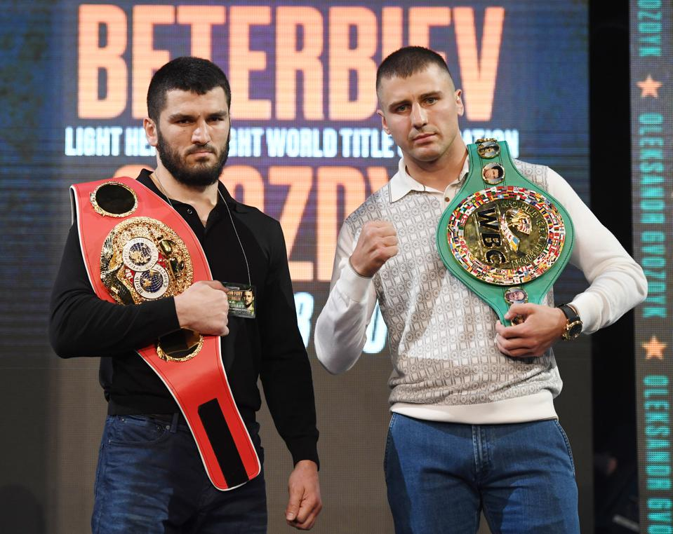 Oleksandr Gvozdyk vs Artur Beterbiev odds records prediction