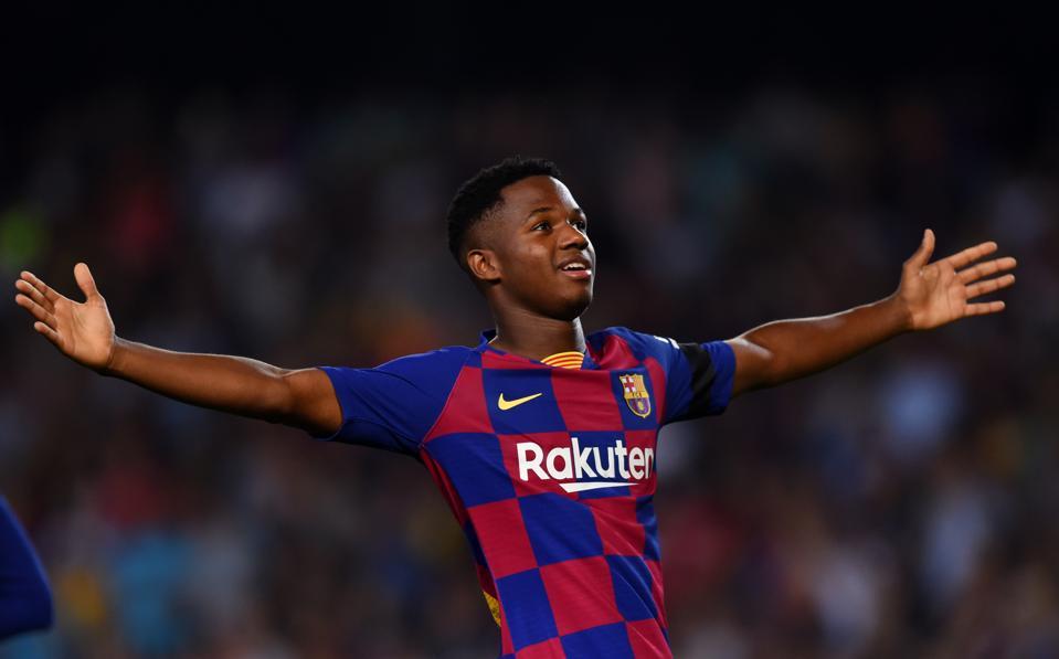 Barcelona starlet Ansu Fati has the personality to match ...  |Ansu Fati