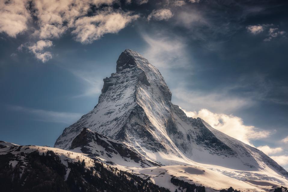 The Matterhorn Mountain, Zermatt, Switzerland