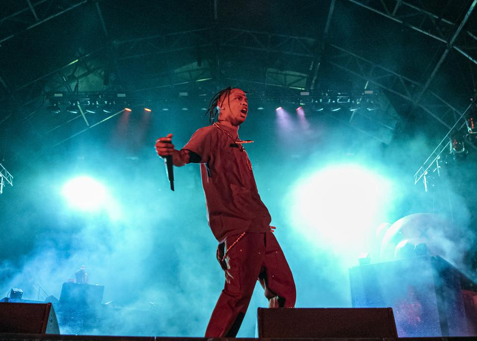Is Travis Scott's New Single About To Debut At No. 1?