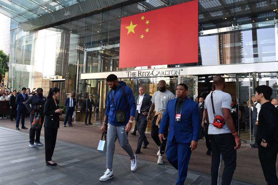 Why Was Adam Silver Muzzled In China?