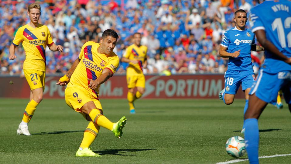 FC Barcelona beat Getafe 0-2 when the two sides last met in September