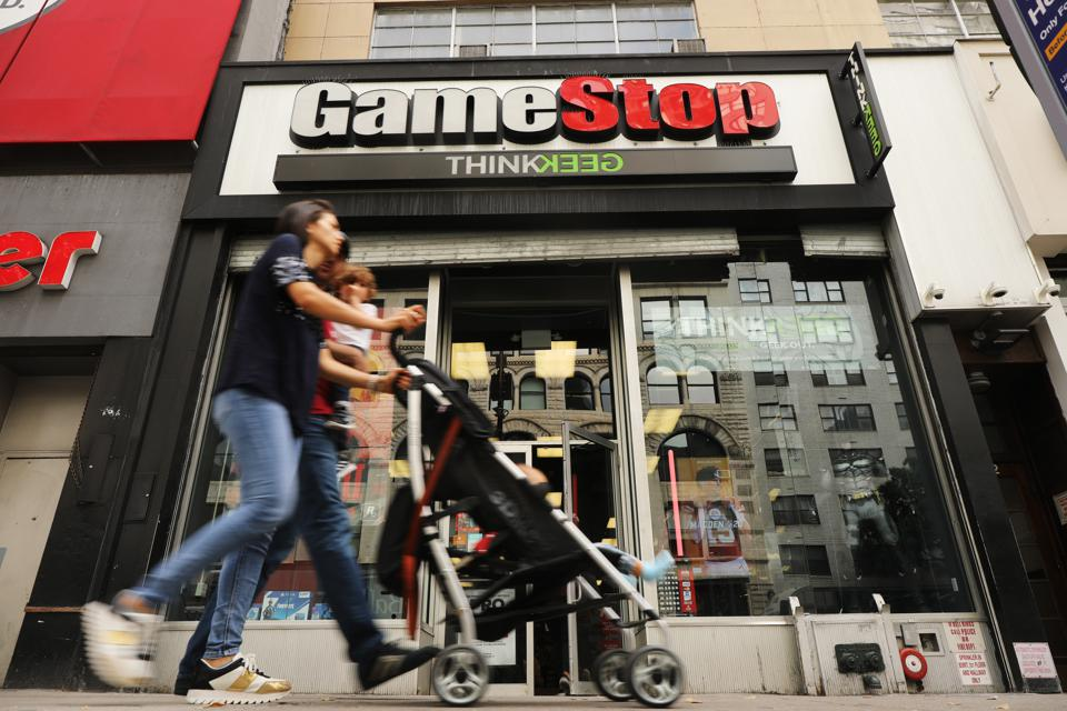 GameStop Is Telling Employees To Wrap Their Hands In Plastic Bags And Keep Working