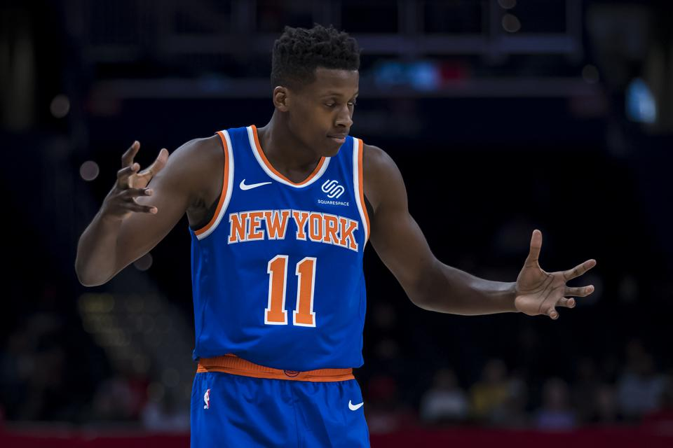 Report: Detroit Pistons Interested In Trading For Knicks' Frank Ntilikina