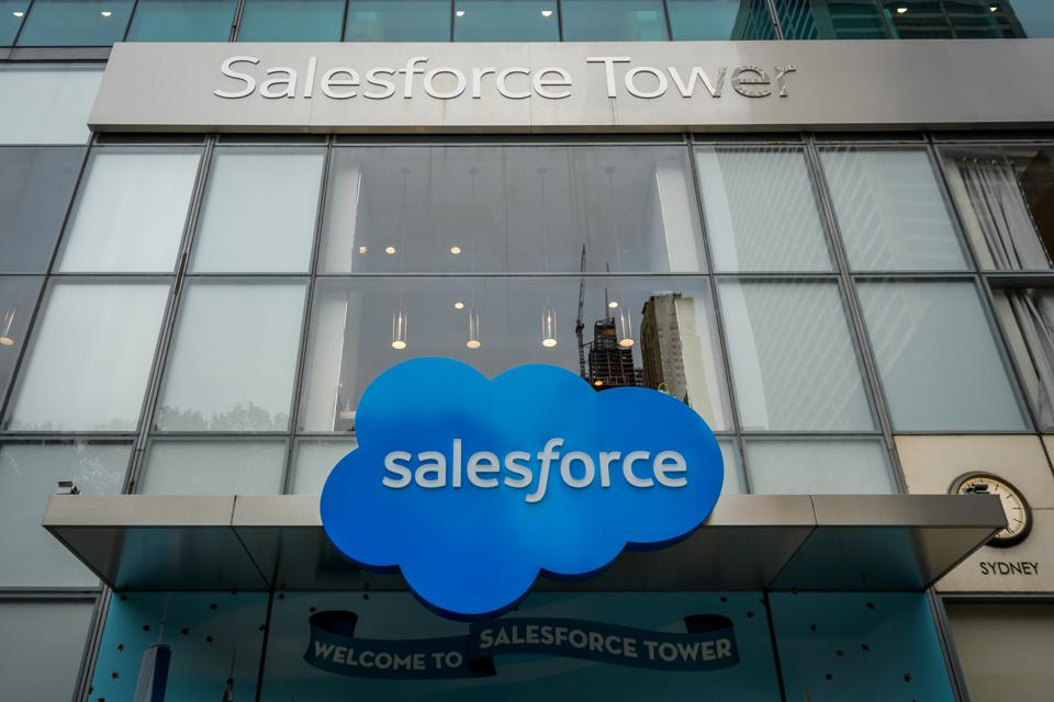 Salesforce Headquarters in New York City, also known as...