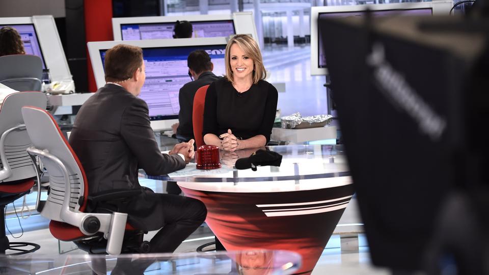 Shepard Smith's Fox News Deck