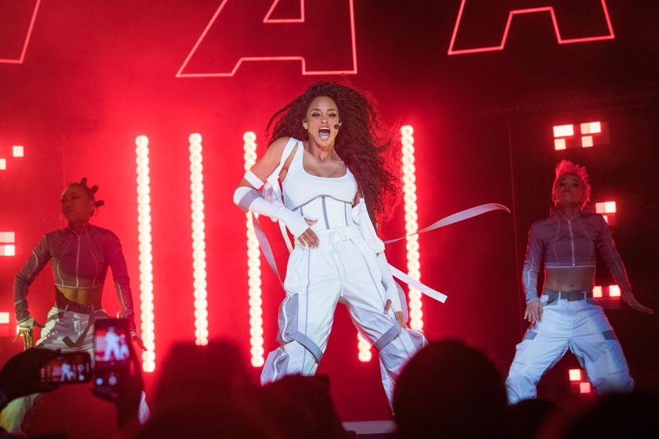 Ciara Performs At The Wiltern