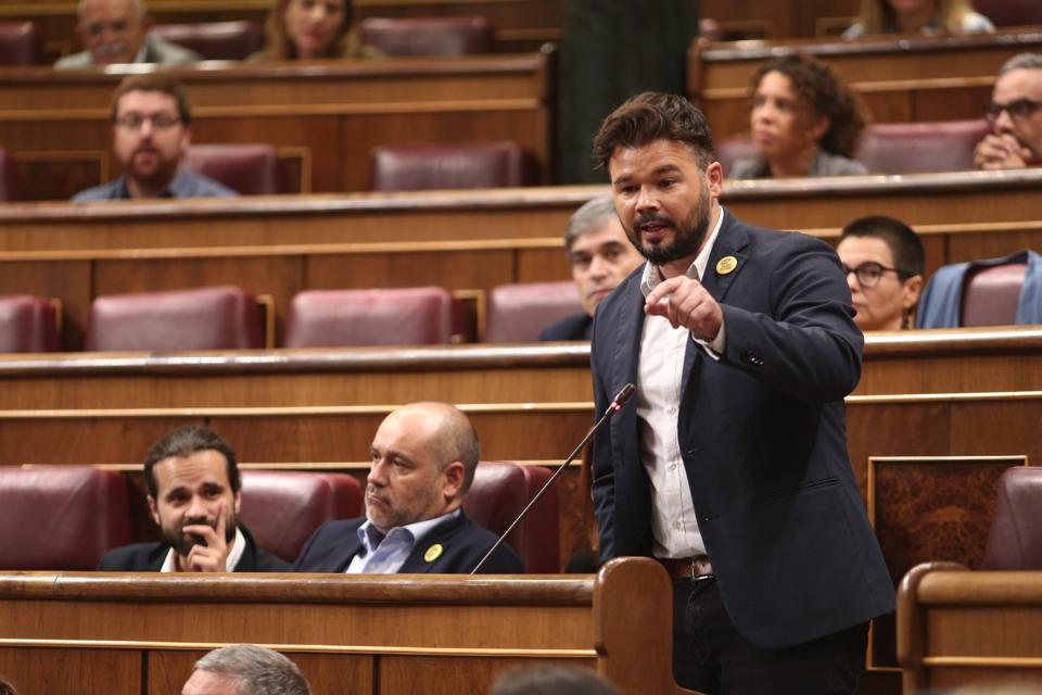 Control Session To The Acting Government At The Congress Of Deputies