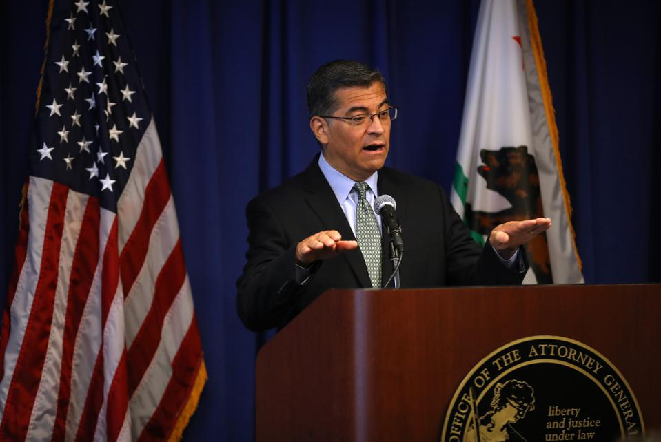 This month, California Attorney General Xavier Becerra's office will begin enforcing CCPA.