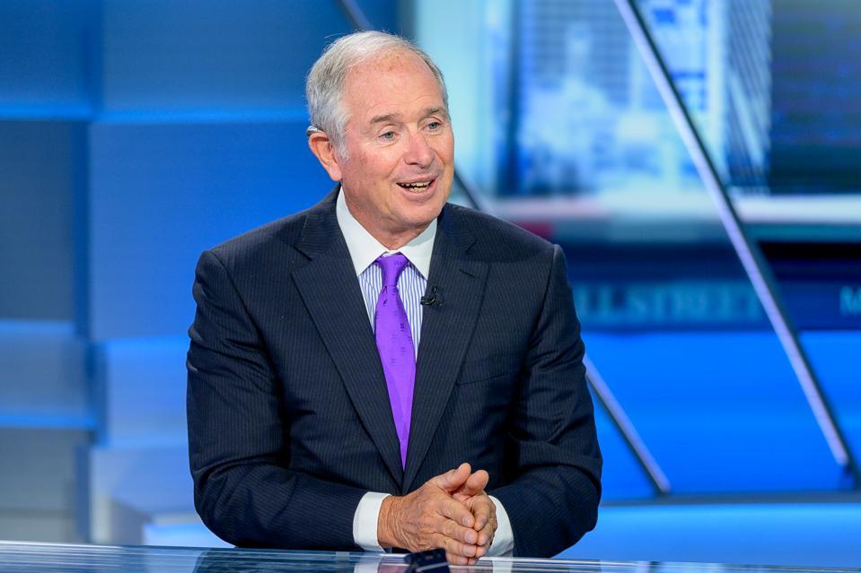 Blackstone CEO Stephen Schwarzman Visits ″Maria Bartiromo's Wall Street″