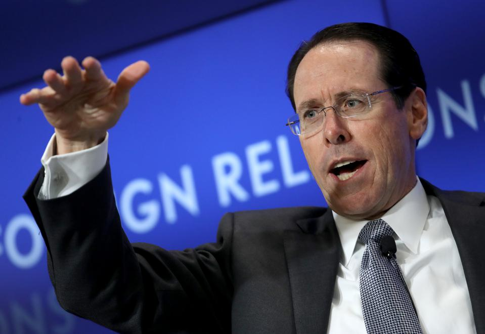 The Council on Foreign Relations Holds A Discussion With AT&T CEO Randall Stephenson