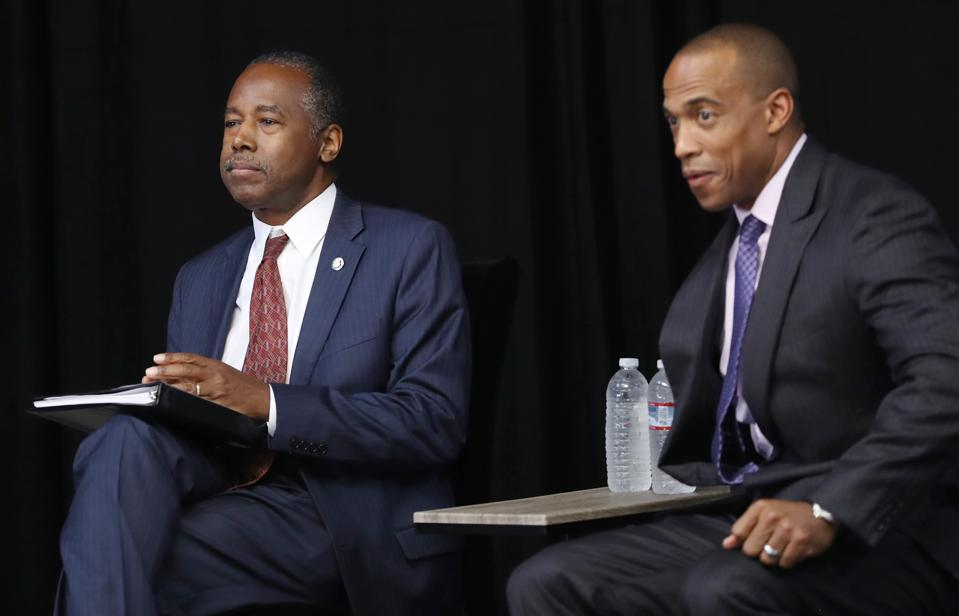 HUD Secretary Ben Carson Attends Forum On Housing ″Opportunity Zones″ In Los Angeles