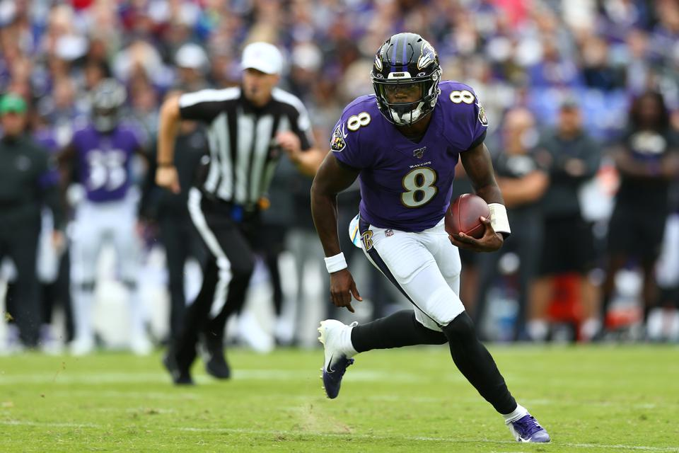 Will Lamar Jackson Keep Running This Much For The Baltimore Ravens?