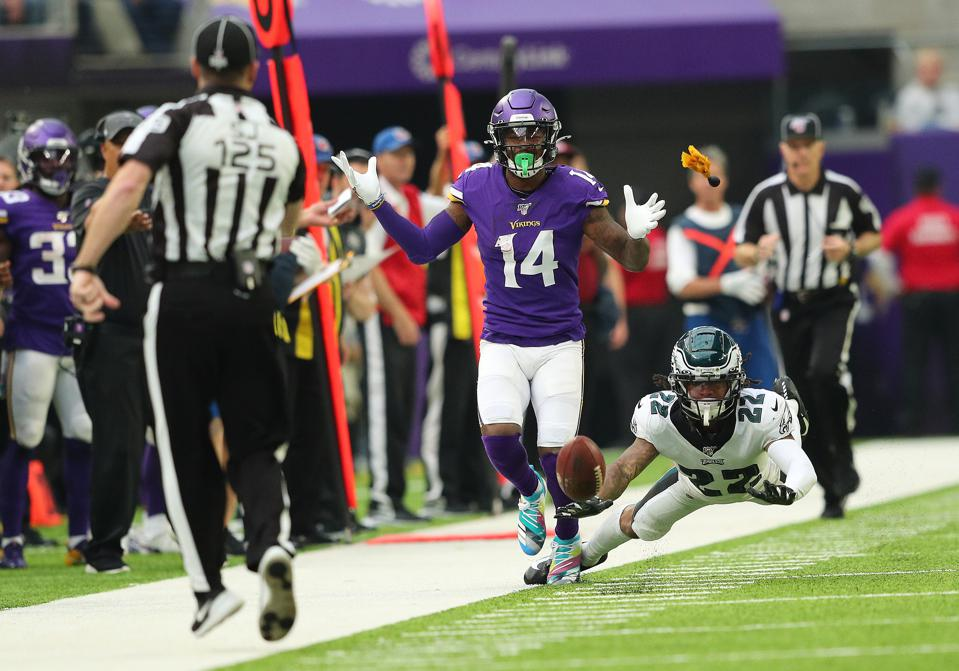 Eagles Slow Starts And Secondary Woes Continue In 38-20 Loss to Vikings