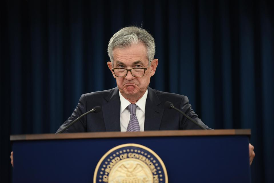 Federal Reserve Chair Jerome Powell Holds News Conference