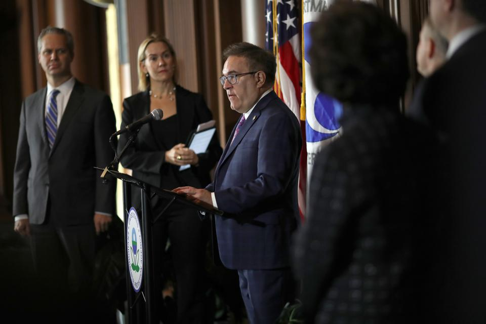 EPA Chief And Transportation Secretary Announce Revocation Of CA Emissions Waver