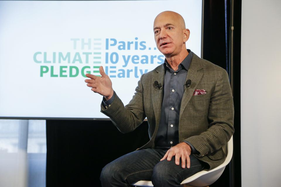 Image result for jeff bezos climate pledge