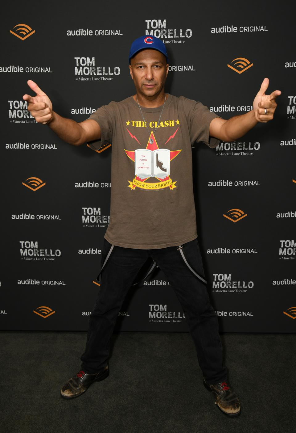 Audible Celebrates Tom Morello At Minetta Lane Theatre In NYC