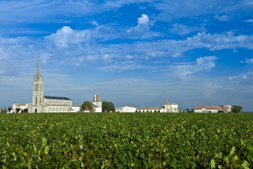 Village of Pomerol, Bordeaux, France