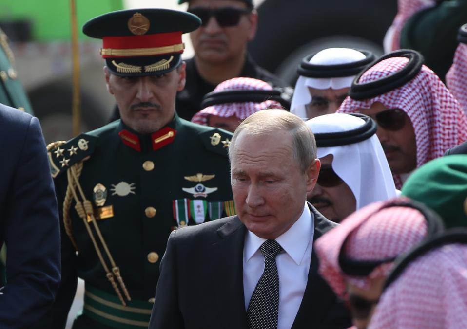 Russian President Vladimir Putin visits Saudi Arabia