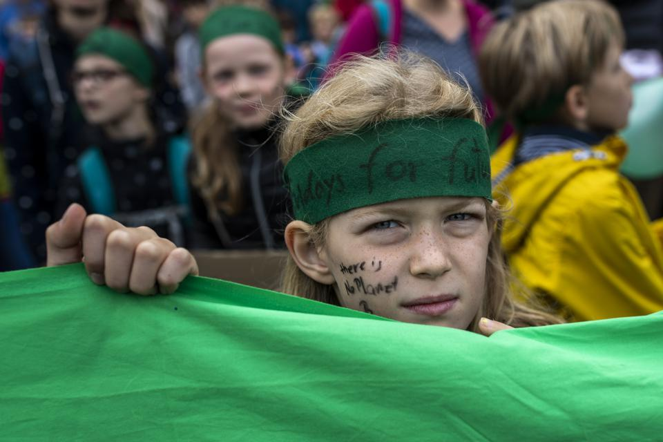 Fridays For Future Strike Nationwide For Climate Change Action