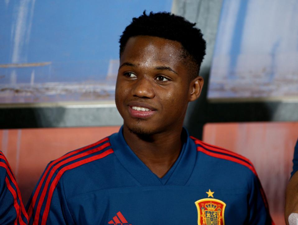 Montenegro v Spain Under 21s