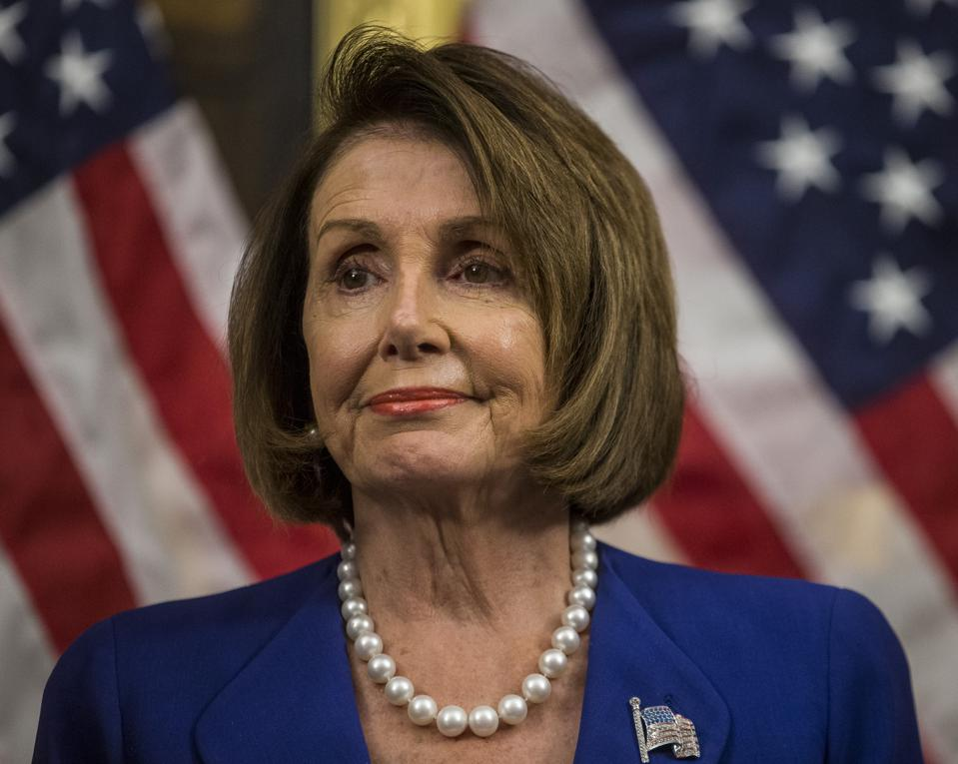 Speaker of the House of Representatives Nancy Pelosi (D-CA)