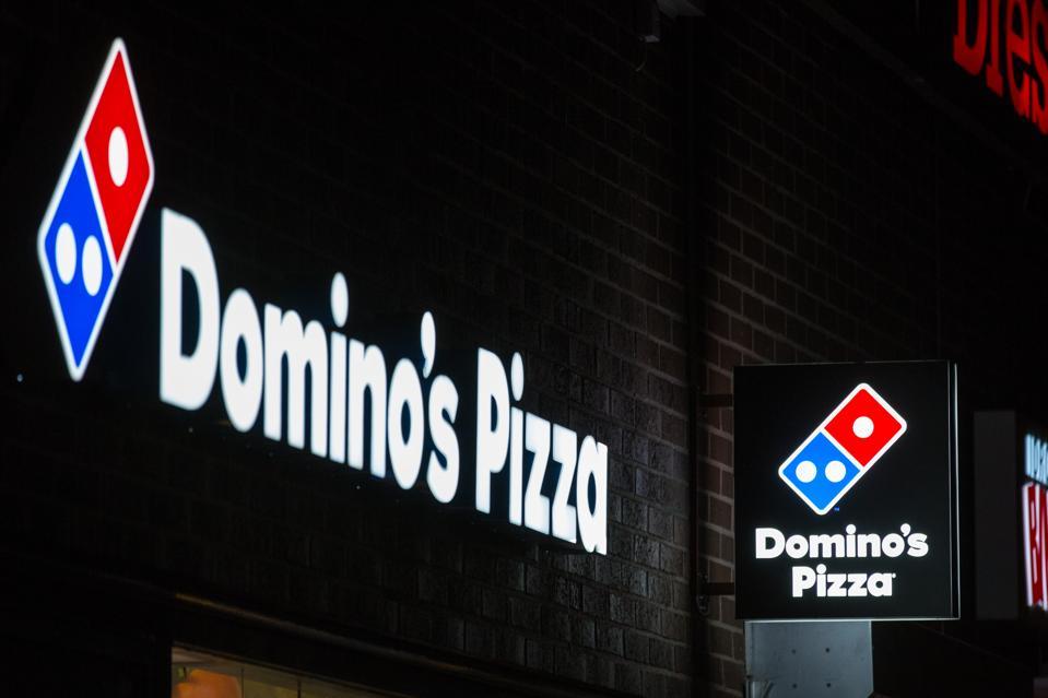American multinational pizza restaurant chain Domino's Pizza...