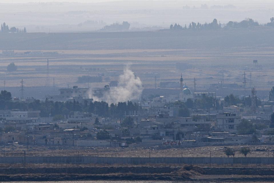TURKKI Syyrian konfliktin-kurdien