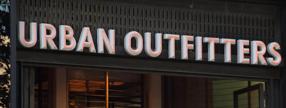 Urban Outfitters store seen in Paseo de Gracia...