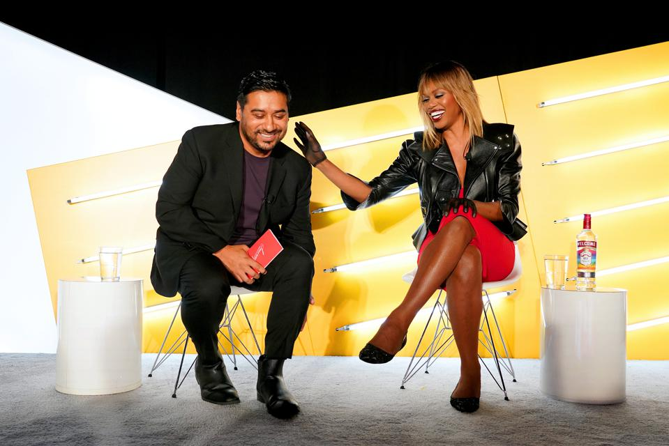 Diageo Beer Company CMO Jay Sethi And Emmy-Nominated Actress Laverne Cox Sit Down At Advertising Week