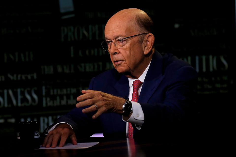 U.S. Secretary Of Commerce Wilbur Ross Visits ″WSJ At Large With Gerry Baker″