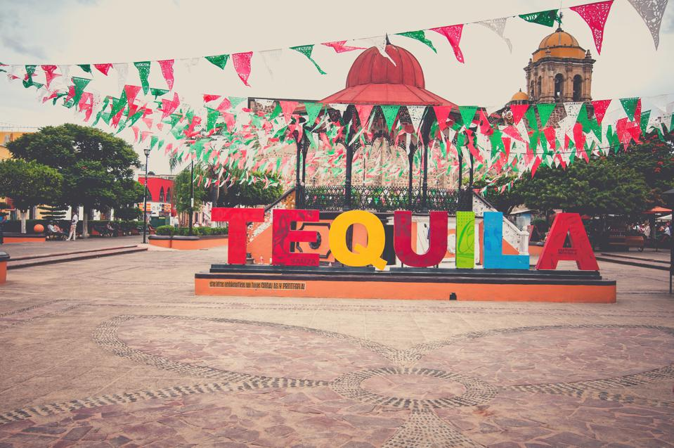 City of Tequila in Mexico