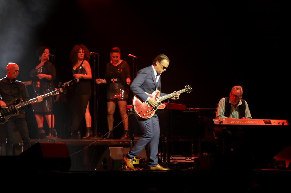 Joe Bonamassa Performs In Auckland