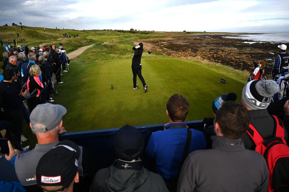 Rory McIlroy Alfred Dunhill Links Championship