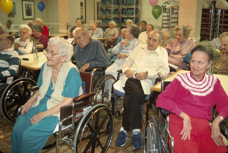 New Jersey, Morristown, nursing home residents