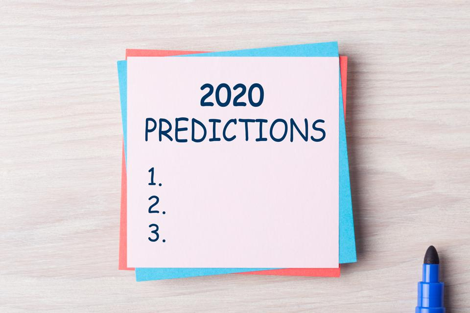 2020 Predictions Concept