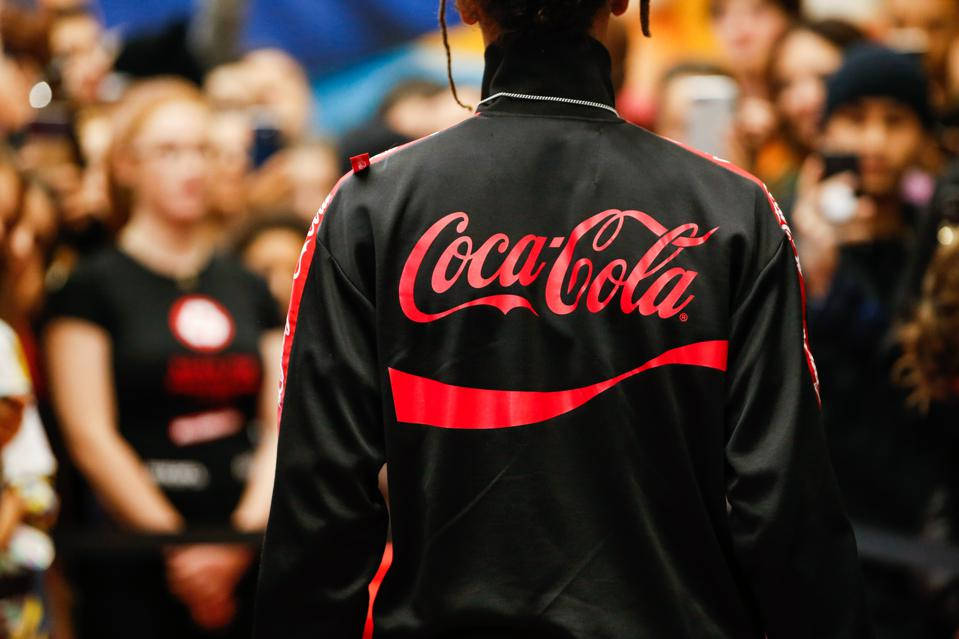 Diesel X Coca Cola Event At The Galeries Lafayette Homme