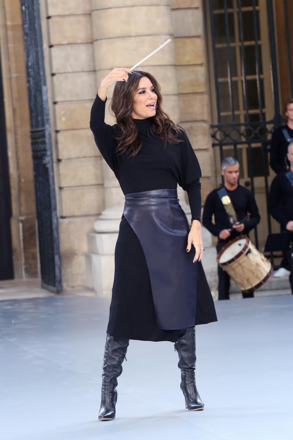 ″Le Defile L'Oreal Paris″ : Front Row -  Paris Fashion Week - Womenswear Spring Summer 2020
