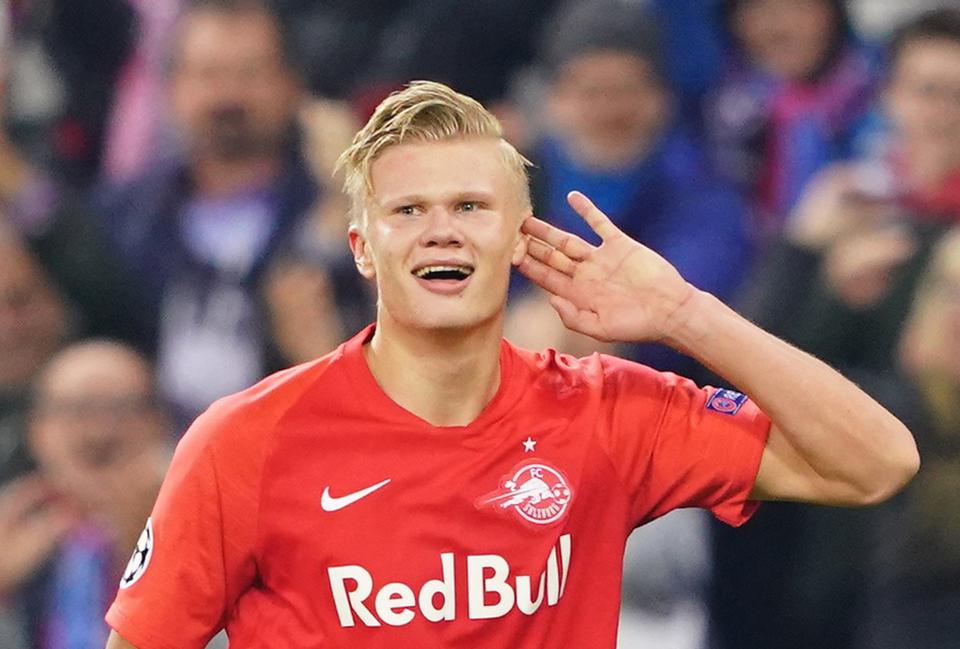 Manchester United Step Up Their Interest In Erling Haaland