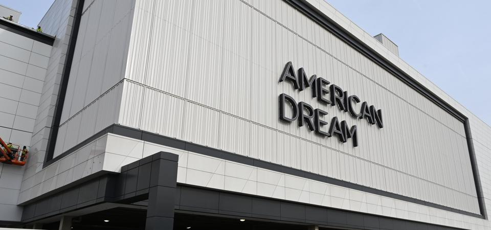 An entrance to the American Dream entertainment and retail mall complex in East Rutherford, N.J.