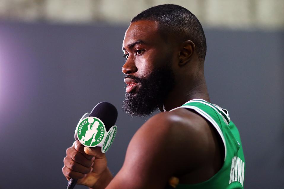 Boston Celtics Jaylen Brown