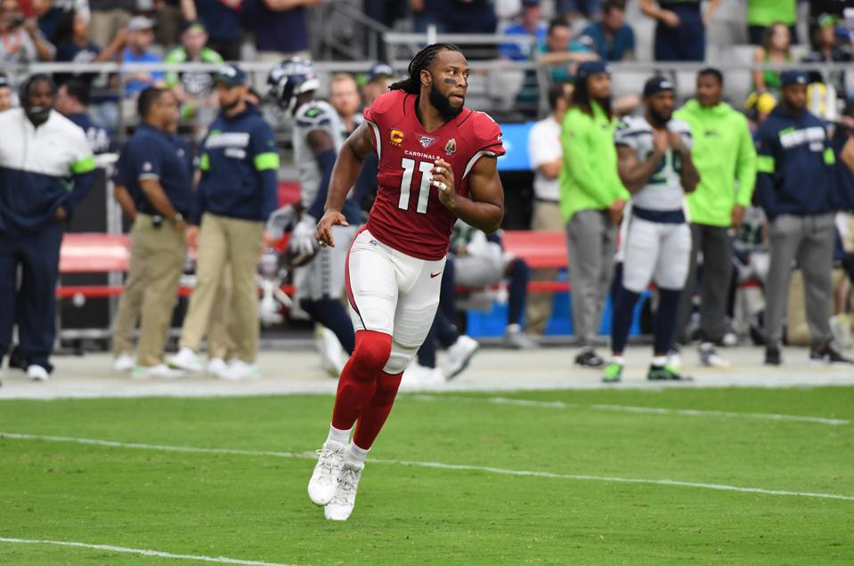 Larry Fitzgerald has had a Hall of Fame career and also has an extensive off the field portfolio which includes a travel company, an entertainment company and 40-50 other investments as a VC.