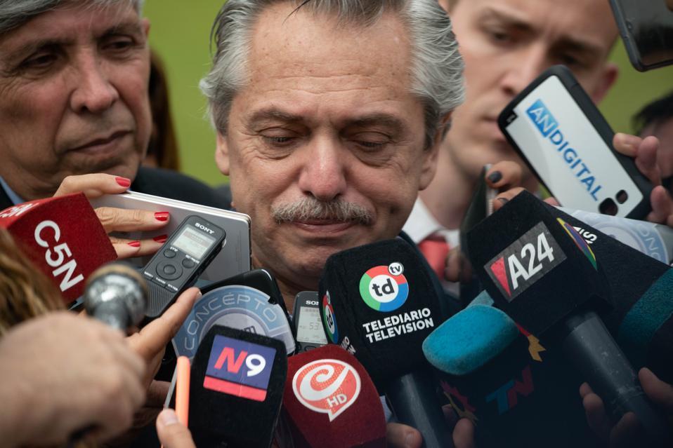 Argentina Elections: Alberto Fernandez