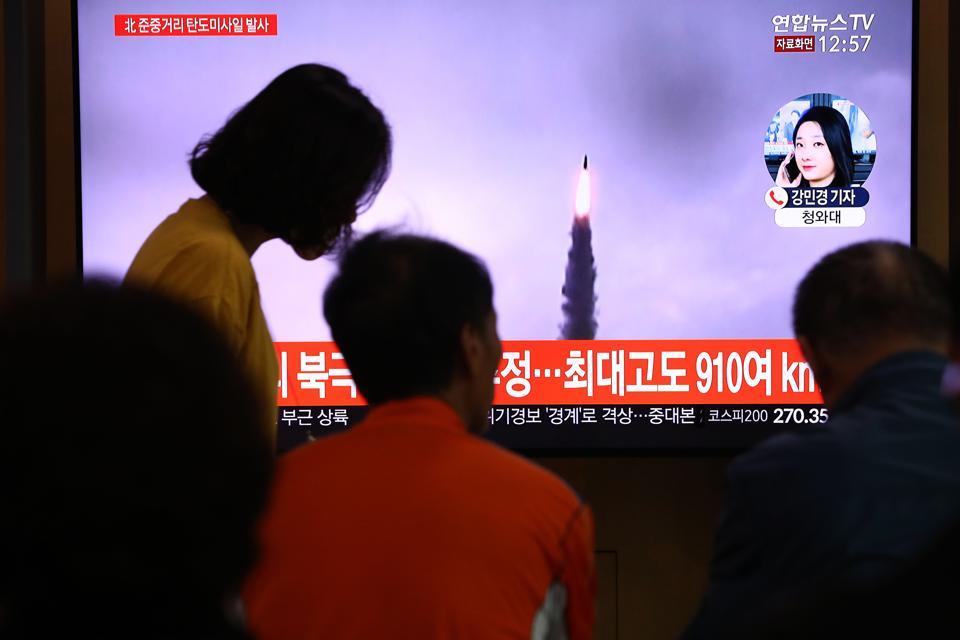 Japan And South Korea Sound Alarm Over North Korea's Latest Ballistic Missile Test
