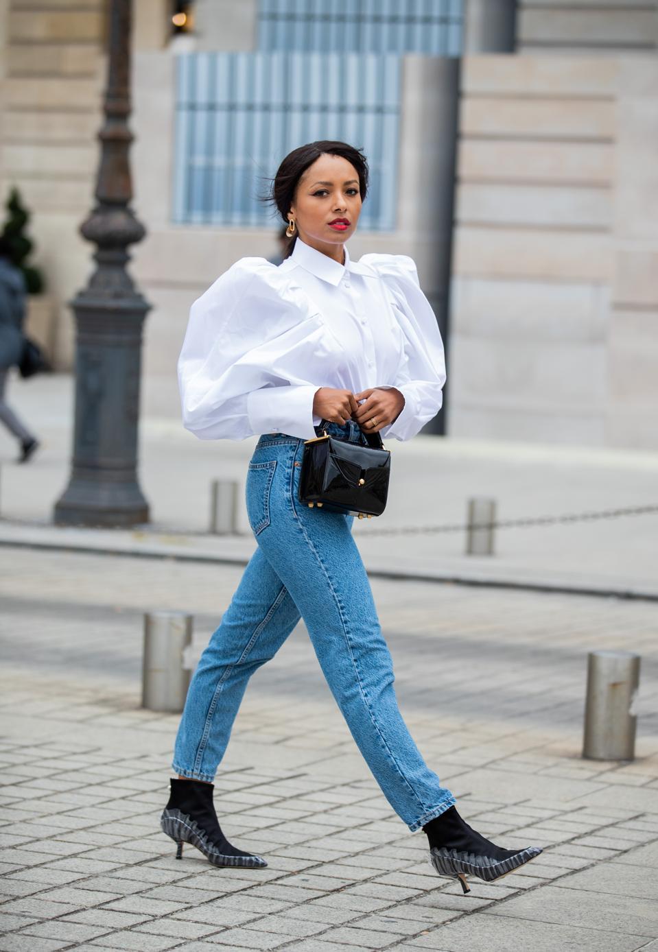 Celebrity Sightings : Paris Fashion Week - Womenswear Spring Summer 2020