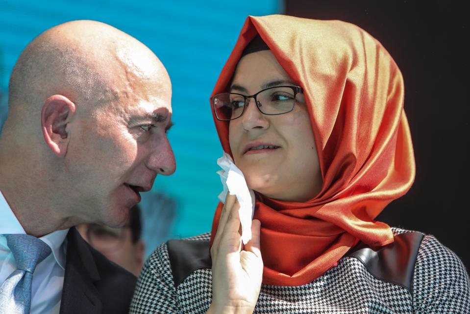 One Year Anniversary Memorial Held For Murdered Journalist Jamal Khashoggi