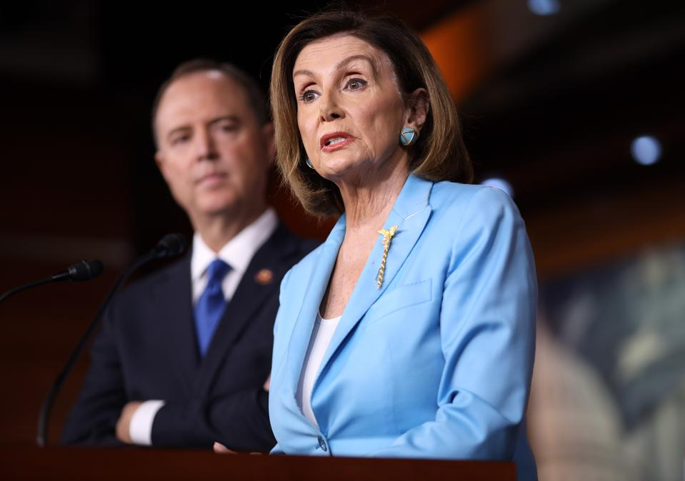According to House speaker Nancy Pelosi and House intelligence chair Adam Schiff, any stonewalling of the investigation will be seen as evidence of obstruction of justice.