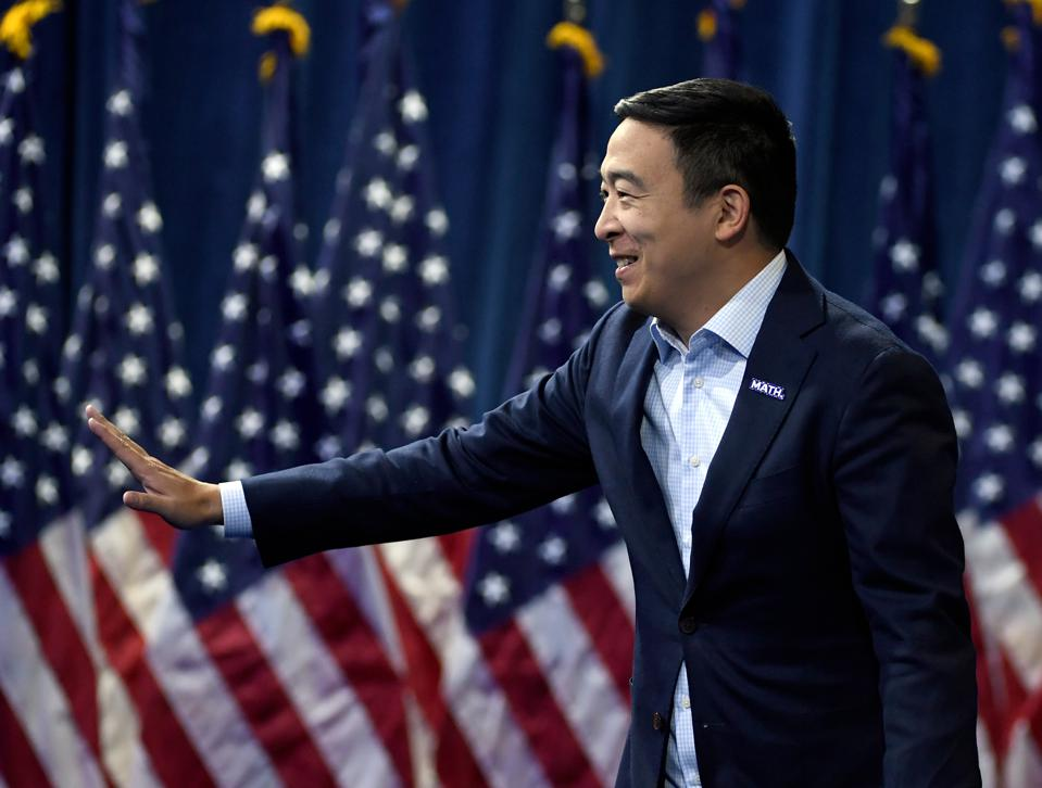 Andrew Yang's America Should Be Built On The Blockchain