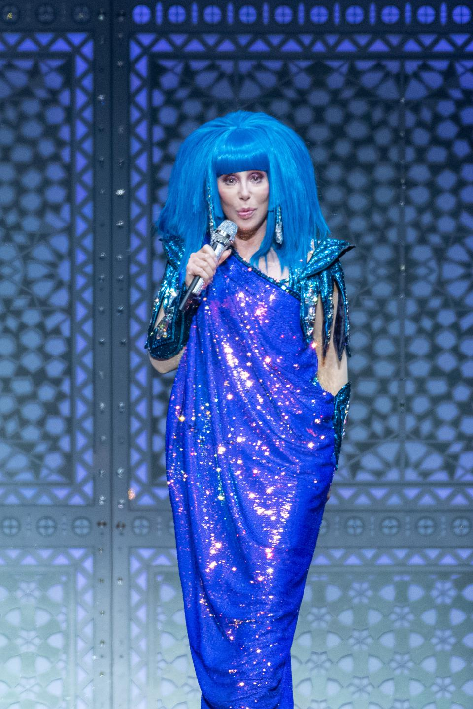 Cher Performs At The SSE Hydro, Glasgow